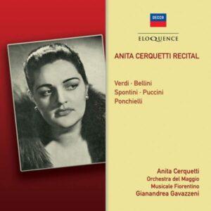 Recital - Anita Cerquetti