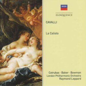 Francesco Cavalli: La Calisto - Janet Baker