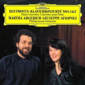 Beethoven: Piano Concertos Nos. 1 & 2 (Vinyl) - Martha Argerich