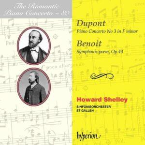 Benoit / Dupont: The Romantic Piano Concerto Vol.80 - Howard Shelley