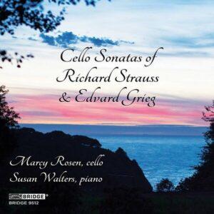 Cello Sonatas Of Richard Strauss And Edvard Grieg - Marcy Rosen