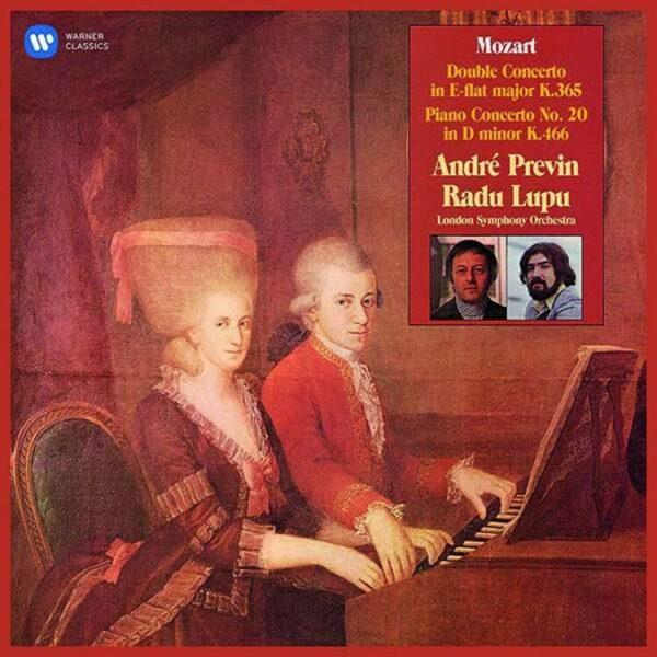 Mozart: Concerto For Two Pianos - Radu Lupu