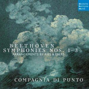 Beethoven: Symphonies Nos. 1-3 (in arrangements for Nonet) - Compagnia Di Punto
