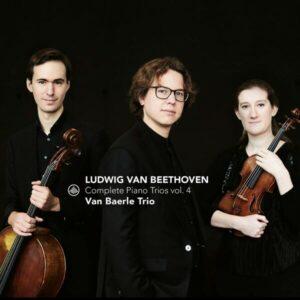 Beethoven: The Complete Piano Trios Vol. 4 - Van Baerle Trio
