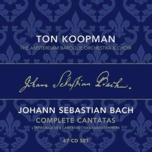 Bach: Complete Cantatas Vol. 1-22 (Box Set) - Ton Koopman
