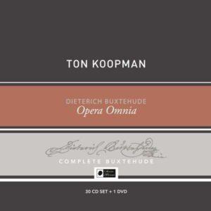 Buxtehude: Opera Omnia: Collector's Box (30 CDs + 1 DVD) - Ton Koopman