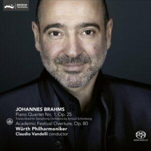 Brahms: Piano Quartet No. 1 (Arr. Schonberg), Academic Festival Overture - Claudio Vandelli