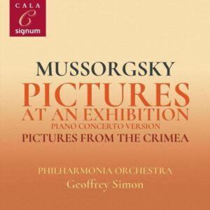 Mussorgsky: Pictures At An Exhibition (Piano Concerto Version) - Geoffrey Simon