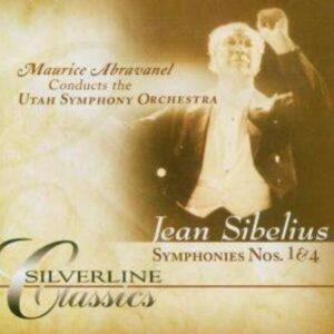 Sibelius-Symphony Nos.1 & 4 - Maurice Abravanel