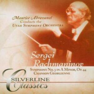 Rachmaninov: Symphony No.3 - Maurice Abravanel