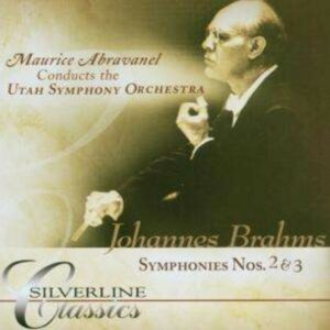 Brahms: Symphonies Nos.2 & 3 - Maurice Abravanel