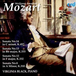 Mozart: Piano Sonatas - Virginia Black