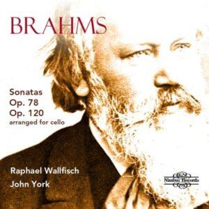 Johannes Brahms: Sonatas Op. 78 & Op. 120 (Arranged For Cello) - Raphael Wallfisch