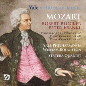 Mozart: Piano Concertos Nos.10 & 11, Concerto for 2 Pianos K365 - Robert Blocker