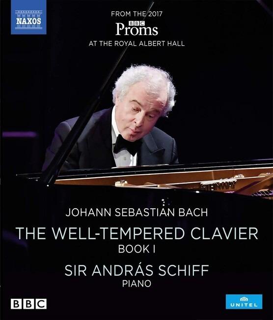 Johann Sebastian Bach: The Well-Tempered Clavier Book 1 - Andras Schiff