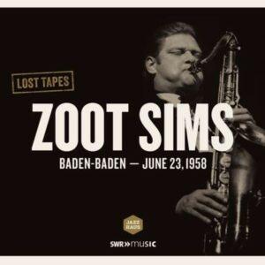 Live Recording Baden-Baden 1958 - Zoot Sims
