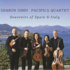 Souvenirs Of Spain & Italy - Sharon Isbin & Pacifica Quartet