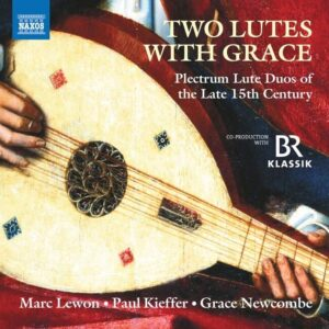 Two Lutes With Grace - Paul Kieffer