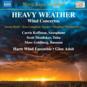 Heavy Weather, Wind Concertos - Carrie Koffman