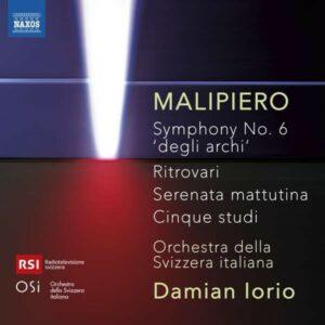 Gian Francesco Malipiero: Symphony No. 6 'Degli Archi' - Orchestra della Svizzera italiana