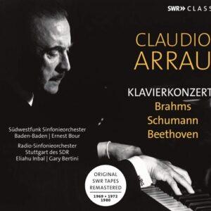 Brahms / Schumann / Beethoven: Piano Concertos - Claudio Arrau
