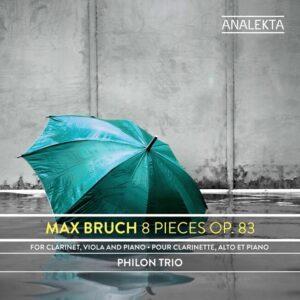 Max Bruch: 8 Pieces, Op.83 - Philon Trio