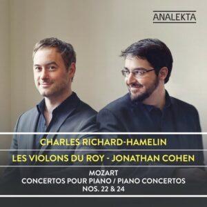 Mozart: Piano Concertos Nos. 22 & 24 - Charles Richard-Hamelin