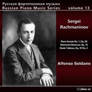 Sergei Rachmaninov: Russian Piano Music, Vol. 13 - Alfonso Soldano