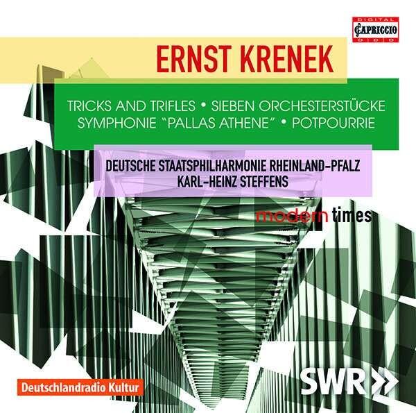 Ernst Krenek: Tricks And Trifles, Seven Orchestral Pieces - Karl-Heinz Steffens