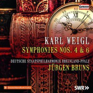 Karl Weigl: Symphonies Nos. 4 & 6 - Jürgen Bruns