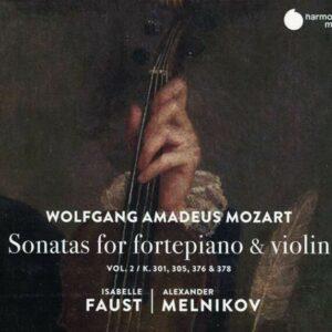 Mozart: Sonatas For Fortepiano & Violin Vol.2 - Isabelle Faust