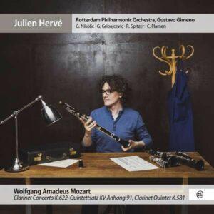 Mozart: Clarinet Concerto - Julien Herve