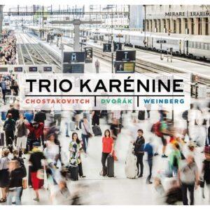 Shostakovich / Dvorak / Weinberg: Piano Trios - Trio Karenine