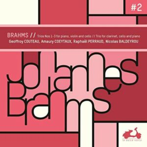 Brahms: Piano Trios Nos. 1-3 - Geoffroy Couteau