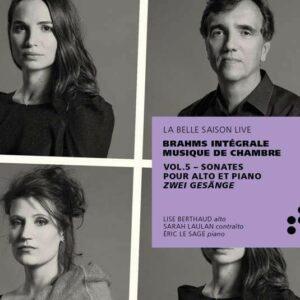 Brahms: Chamber Music Vol.5: Sonates Pour Alto Et Piano, Zwei Gesange - Eric Le Sage