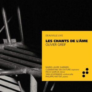 Olivier Greif: Les Chants De L'Âme - Philippe Hattat