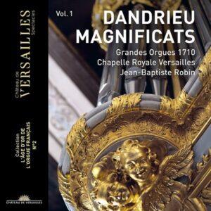 Jean-Francois Dandrieu: Magnificats - Jean-Baptiste Robin