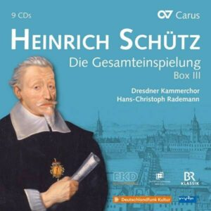 Heinrich Schutz: Complete Recording, Box III - Hans-Christoph Rademann