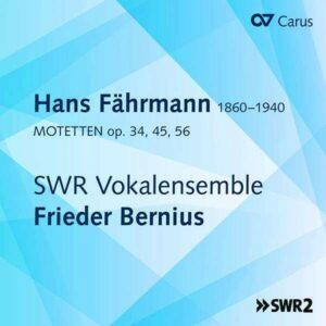 Hans Farhmann: Motets -  Frieder Bernius