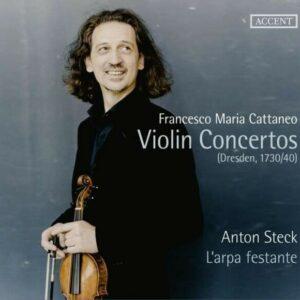 Francesco Maria Cattaneo: Violin Concertos - L'Arpa Festante