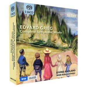 Grieg: Complete Symphonic Works - Eivind Aadland