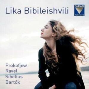 Prokofiev / Ravel / Sibelius / Bartok - Lika Bibileishvili