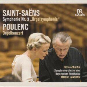 Saint-Saens: Organ Symphony / Poulenc: Organ Concerto - Mariss Jansons
