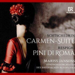 Ottorino Respighi: Pini Di Roma / Rodion Shchedrin: Carmen-Suite - Symphonieorchester Des Bayerischen Rundfunks
