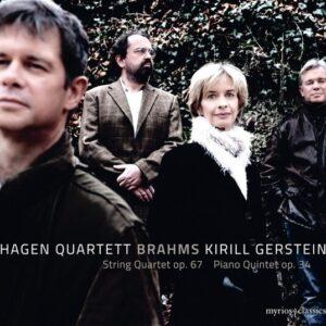 Brahms: String Quartet Op.67, Piano Quintet Op.34 - Kirill Gerstein