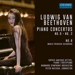 Beethoven: Piano Concertos Nos. 0, 2 & 6 - Sophie-Mayuko Vetter