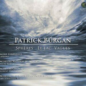 Patrick Burgan: Spère, Le Lac, Vague - Orchestre National de France