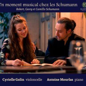 Un Moment Musical Chez Les Schumann - Cyrielle Golin