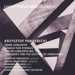 Penderecki: Horn And Violin Concerto - Radovan Vlatkovic