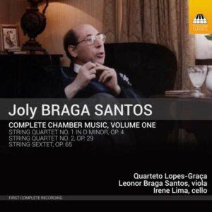 Joly Braga Santos: Complete Chamber Music, Vol.1 - Irene Lima